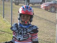 Alex Playing Lacrosse