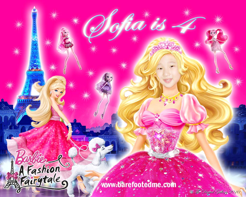 Barbie Birthday Cards