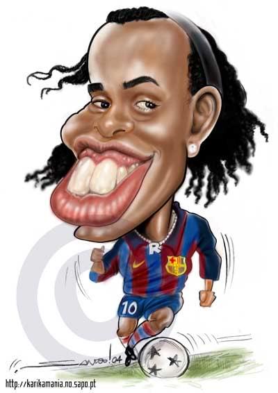 jugadas ronaldinho com: