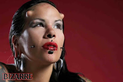 tamil pic gallery the women with real horns in forehead la negra