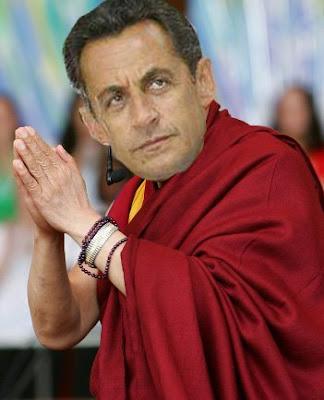 Ο Σαρκοζί Δαλάι Λάμα