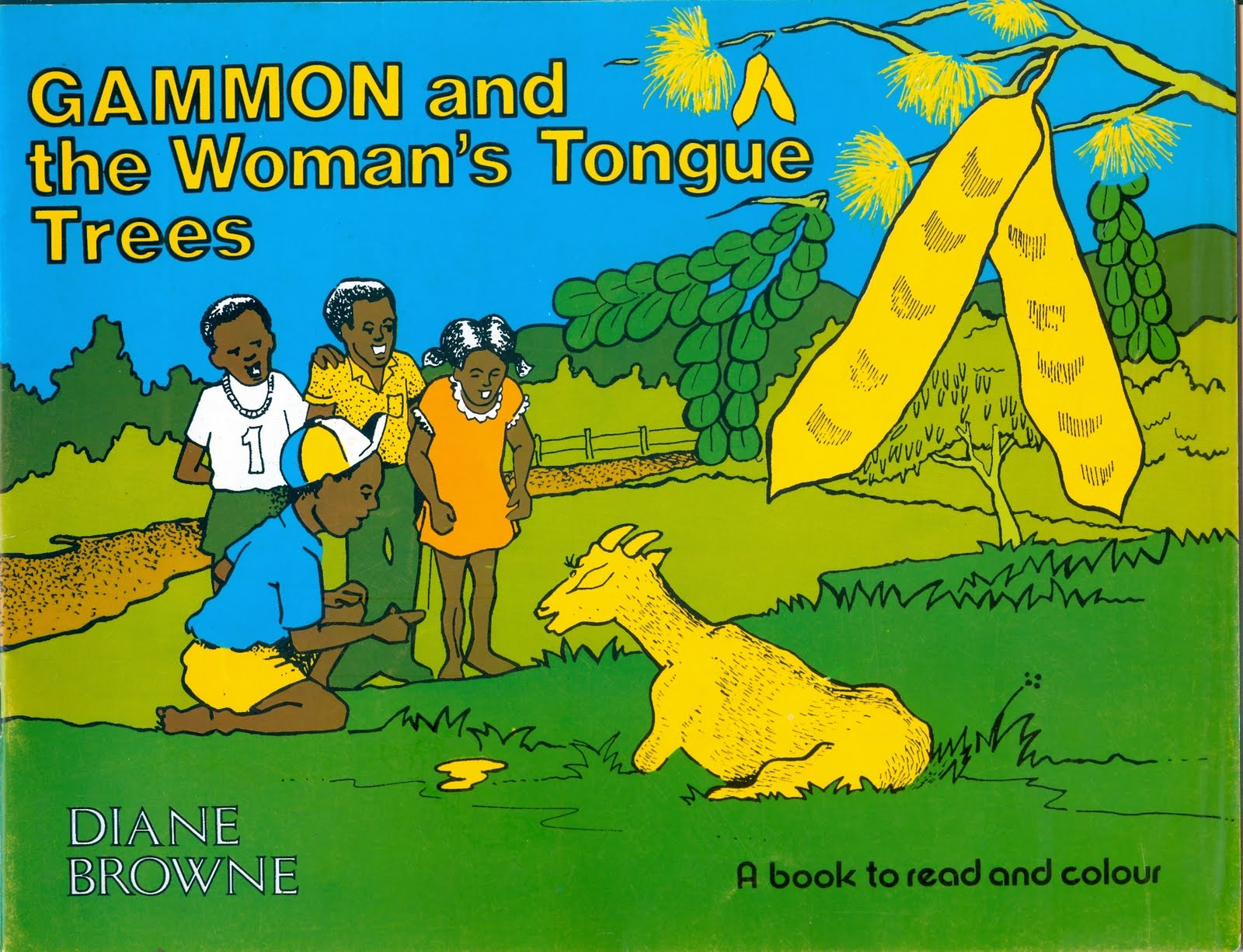 Colour childrens literature - And Yes This Does Lead Back Through The Highways And The Byways Of Thought To Children S Literature My Book Gammon And The Woman S Tongue Trees