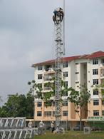 mendirikan ERS tower