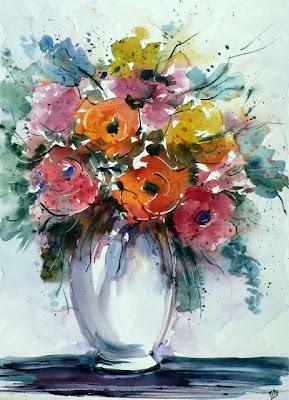 Bluoltremare vaso di fiori for Vaso di fiori disegno