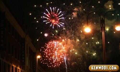 fireworks performance
