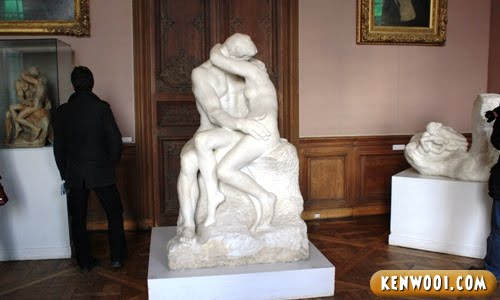 paris rodin the kiss