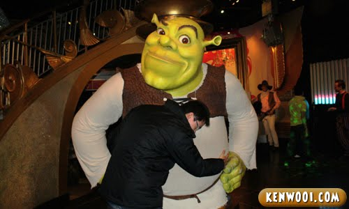madame tussauds london shrek