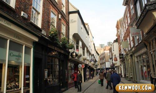york medieval street