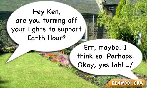 earth hour peer pressure