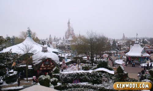 disneyland paris view