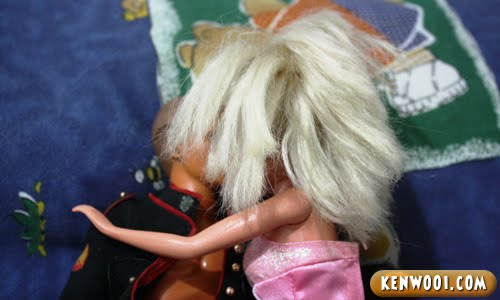 ken barbie hair
