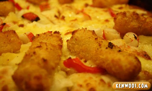 dish king pizza upclose