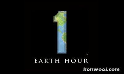 earth hour logo parody