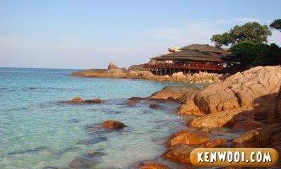 laguna redang island resort rocky beach