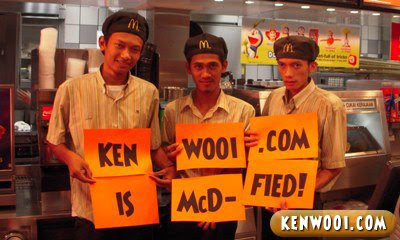 mcdonald with kenwooi.com