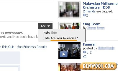 facebook quiz are you awesome