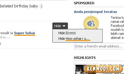 facebook quiz how sohai are you
