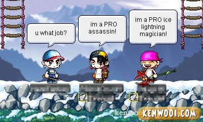 maplestory job