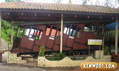 penang hill old tram