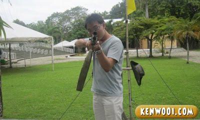 penang fort cornwallis rifle
