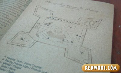 penang fort cornwallis star shape