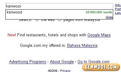 google kenwooi