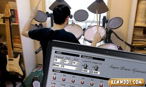 electronic drum set software