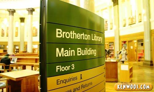 leeds uni brotherton library