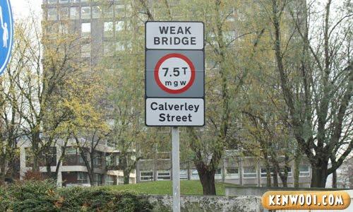 leeds weak bridge