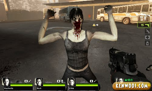 left 4 dead zombie pose