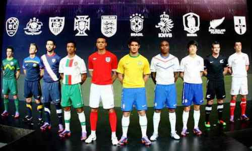 nike world cup 2010 jerseys