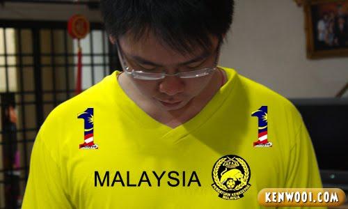 malaysia football team jersey