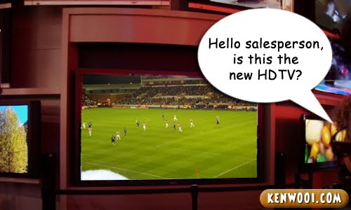 new HD TV