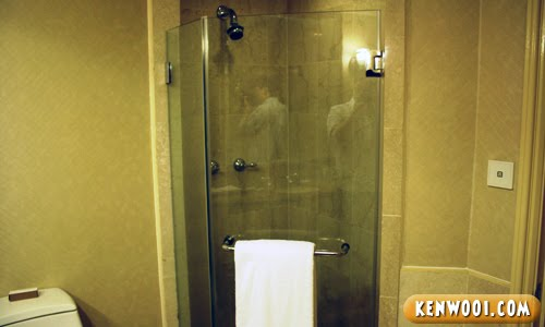 hotel nikko shower cubicle