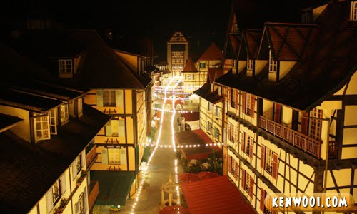 colmar tropicale french village night view
