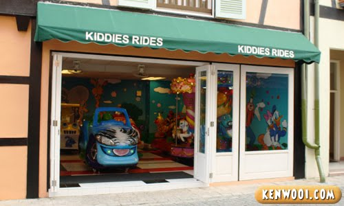 colmar tropicale kiddies ride