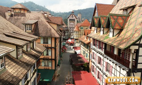colmar tropicale french village day view