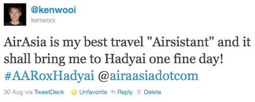 airasia tweet