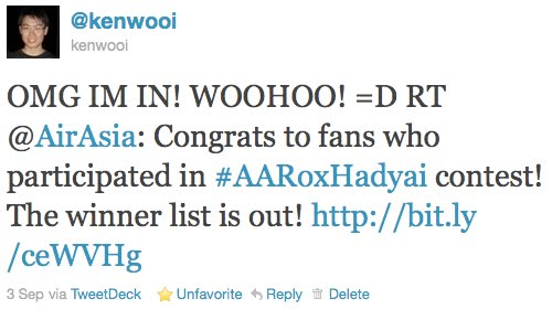 airasia winner