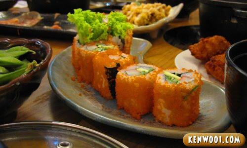 nagomi sushi roll