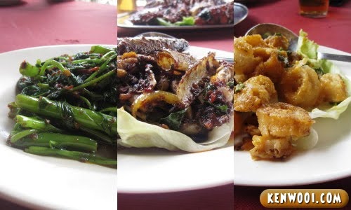 klang seafood dishes