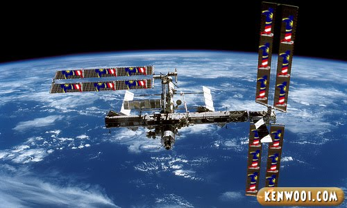 1malaysia space station