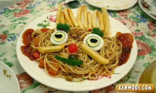 winter warmers kids meal pasta