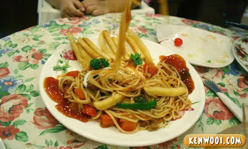 winter warmers kids meal pasta ate