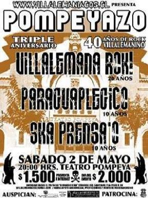 pompayazo! sabado 2 de mayo. 20 hrs. teatro pompeya