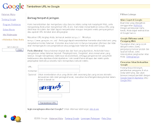 google add url blog