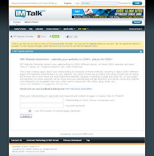 backlink IMTalk