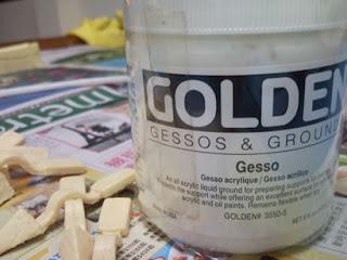 這就是 Gesso 謎之液狀石膏!