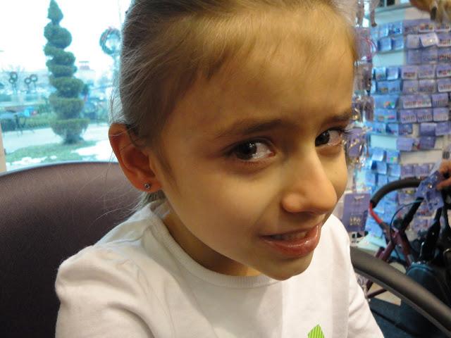 Maddie Ear Piercing