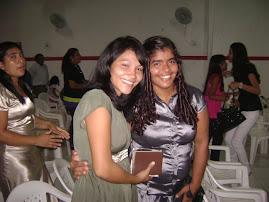 Tia Cláudia e Tia kátia fim de ano na Igreja!